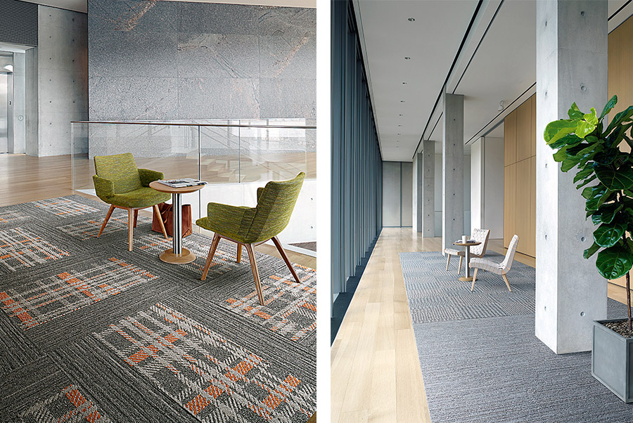 New interface skinny planks pay homage to centuries-old textiles