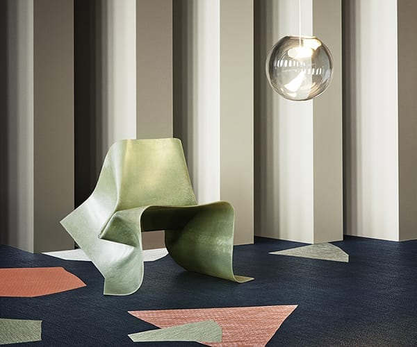 Bold Bolon presence at major Stockholm Furniture Fair