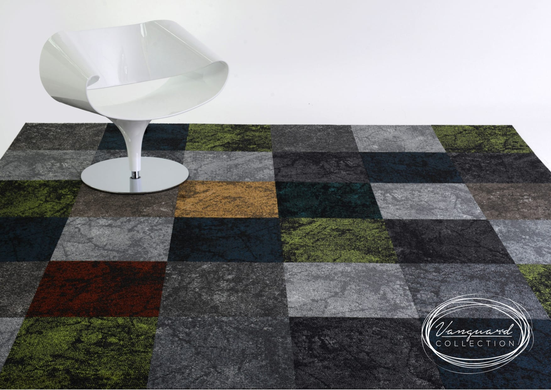 TWO NEW CARPET TILES IN FAST-GROWING VANGUARD COLLECTION