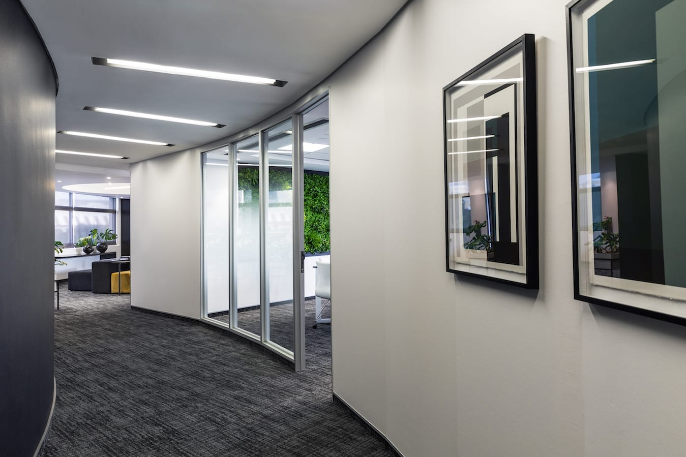 KBAC Interface carpet tiles ideal choice for prestige V&A Waterfront offices