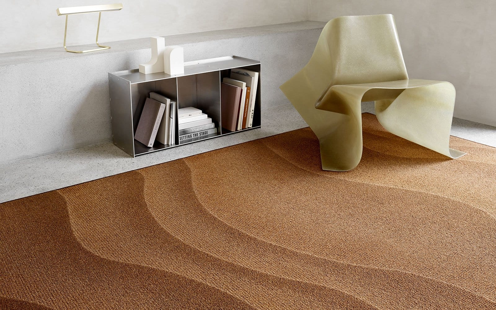 A STRIKING NEW WAVE FLOWS INTO FLOORING