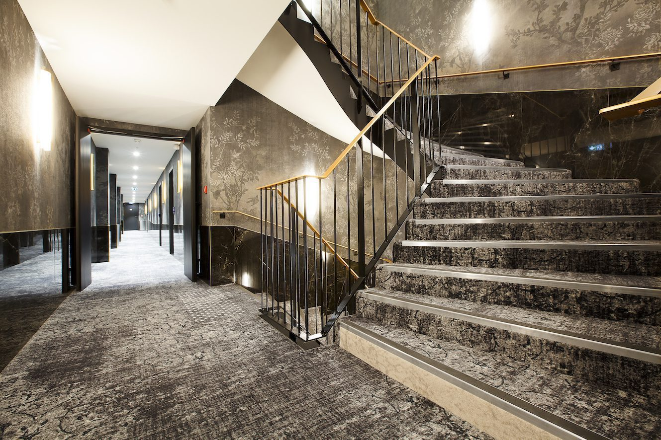 CUSTOM-MADE FLOORING ADDS ATMOSPHERE TO HISTORIC HOTEL