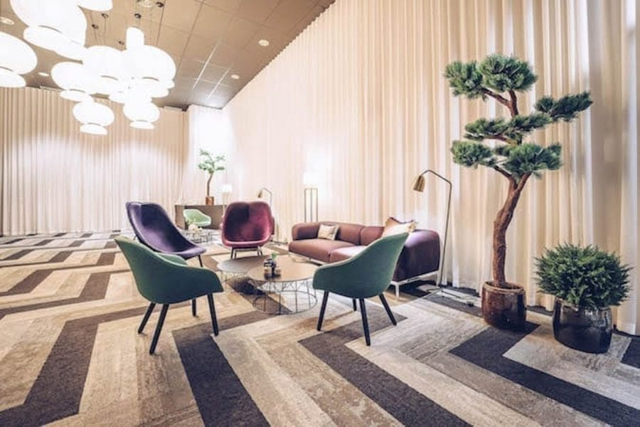 HEALTHY HOTELS WITH BIOPHILIC FLOORING LURE THE CROWDS